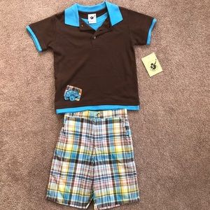 Good Lad Jeep Outfit NWT